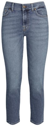 7 For All Mankind Roxanne Straight Ankle Jeans