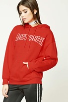 Forever 21 FOREVER 21+ Lost Youth Graphic Hoodie