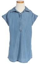 Vineyard Vines Toddler Girl's Chambray Shift Dress