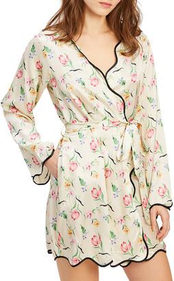 Morgan Lane Annabelle Floral Print Robe