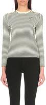 Maje Breton stripe cotton t-shirt
