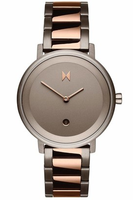 MVMT Womens Analogue Quartz Watch with Stainless Steel Strap D-MF02-TIRG