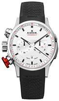 Edox Unisex Watch Rally Rally Chronograph Instruments Chrono Quartz Rubber 10302 3 AIN
