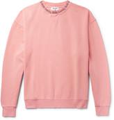 Acne Studios - Yana Printed Loopback Cotton-jersey Sweatshirt