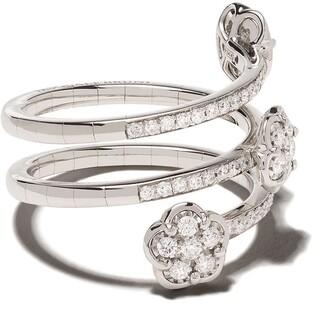 Pasquale Bruni 18kt white gold Figlia dei Fiori diamond ring