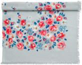 Cath Kidston Daisies & Roses Border Woven Shawl