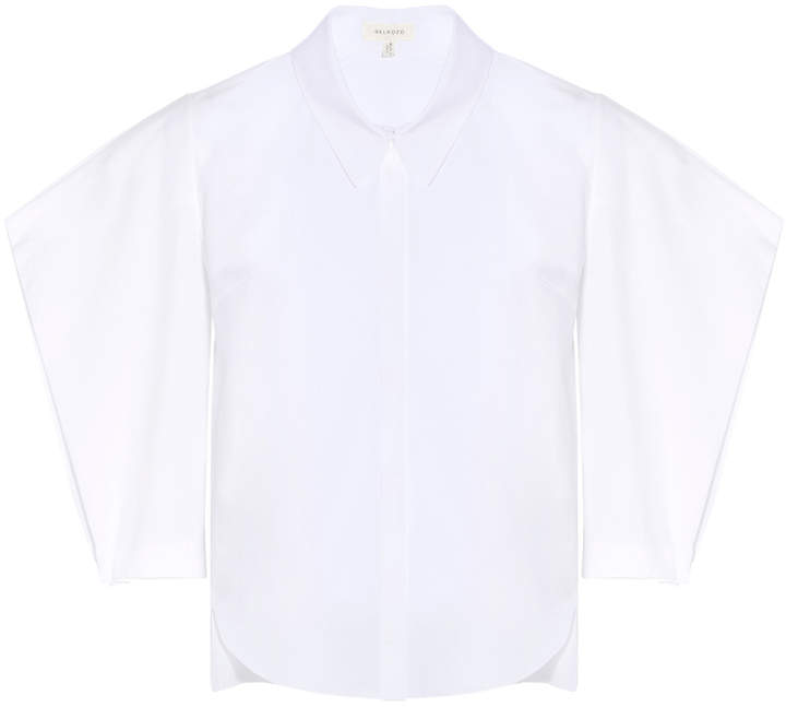 DELPOZO Bubble Sleeve Shirt