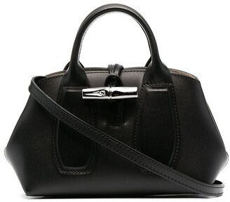Longchamp extra small Roseau top handle bag