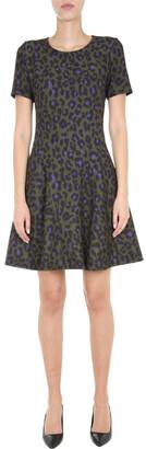 Boutique Moschino Animal Print Dress