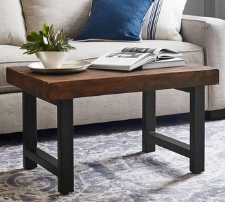 Pottery Barn Griffin Small Space Reclaimed Wood Coffee Table