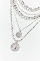 Urban Outfitters Statement Coin Layer Necklace