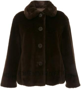 Fendi Pre-Owned faux fur coat