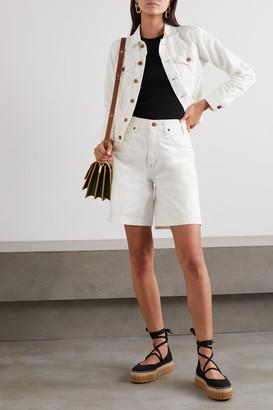 Citizens of Humanity Net Sustain Rosa Denim Shorts - White