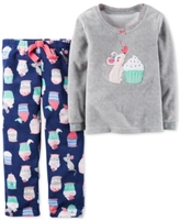 Carter's 2-Pc. Mouse & Sweets Pajama Set, Little Girls (2-6X) & Big Girls (7-16)
