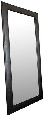 "West Frames Marcello Full Floor Rustic Charcoal Brown Mirror, 32""x68"""