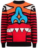 Givenchy Knit Totem Intarsia Sweater