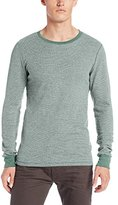 Threads 4 Thought Men's Flex Thermal Long-Sleeve Crew-Neck Shirt