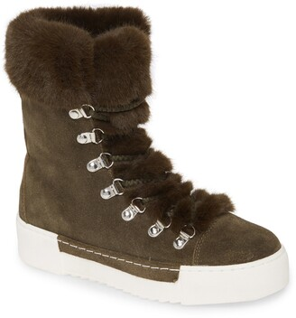 Cecelia New York Faux Fur Boot