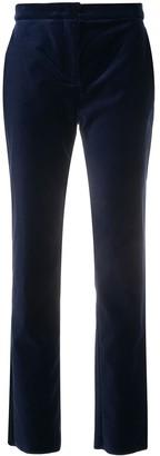 Max Mara Slim Velvet Trousers