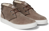 Moncler - La Sorbonne Shearling-lined Suede Chukka Boots