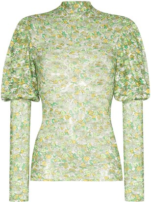 Collina Strada Cardio Princess floral print top