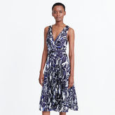 Ralph Lauren Graphic-Print Pleated Dress