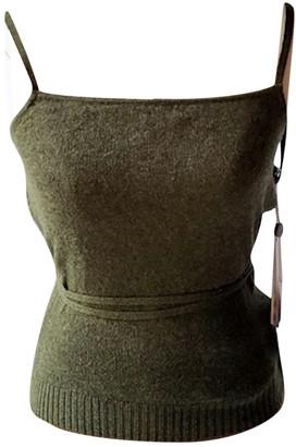 KHAITE Green Cashmere Tops