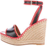 Valentino Platform Espadrille Wedge Sandals