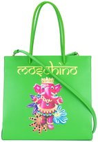 Moschino jewelled elephant tote