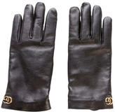 Gucci 2017 Marmont Leather Gloves