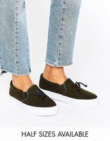 Asos DONGLE Slip on Toggle Sneakers