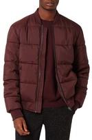 Topman Men's Lias Quilter Bomber Jacket