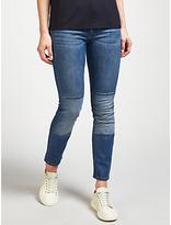 HUGO BOSS BOSS Orange J21 High Rise Slim Leg Jeans, Bright Blue