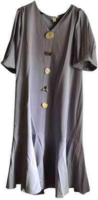 Non Signã© / Unsigned Purple Cotton Dresses
