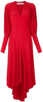 Reinaldo Lourenço silk midi dress
