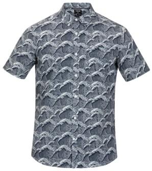 Hurley Men's Wave Print Shirt