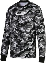 Rebel Camo Men's Fleece Crewneck Sweatshirt