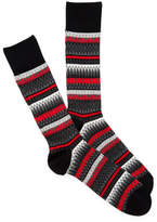 Cole Haan Fairlisle Crew Socks