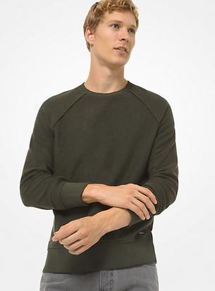 Michael Kors Tencel-Blend Sweatshirt - Ivy