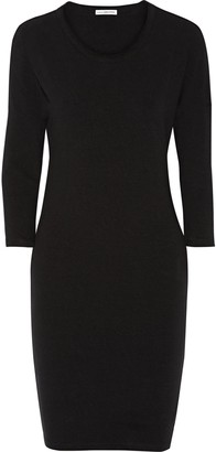 James Perse Stretch-cotton Jersey Dress