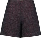 Carven Bouclé-tweed shorts