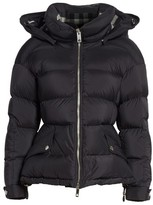 Burberry Women's Fleetwood Hooded Down Puffer Jacket