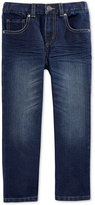 Epic Threads Little Boys' Dark Blue Denim Jeans, Only at Macy's