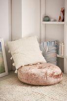 Urban Outfitters Amya Velvet Pillow Pouf