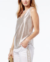 INC International Concepts Popsicle® Metallic Tank Top, Only at Macy's