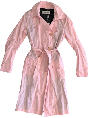 Ramosport Pink Trench Coat for Women