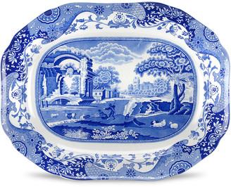 Spode Blue Italian 14In Oval Platter