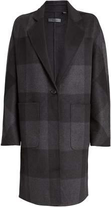 Rails Larsen Buffalo Checked Reversible Coat