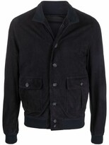Thumbnail for your product : Valstar Button-Up Leather Shirt Jacket