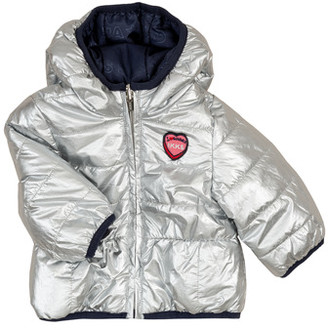 Ikks HELENE girls's Jacket in Silver